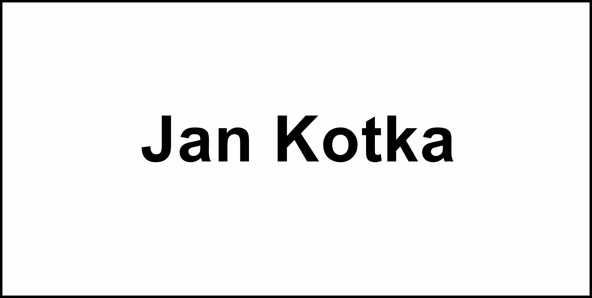 Jan Kotka