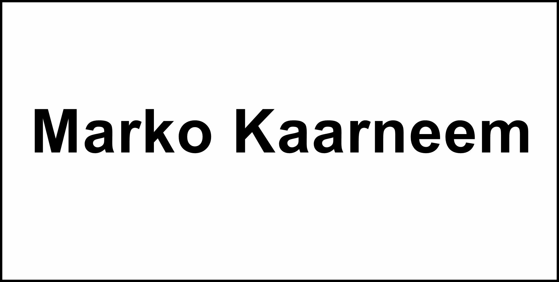 Marko Kaarneem